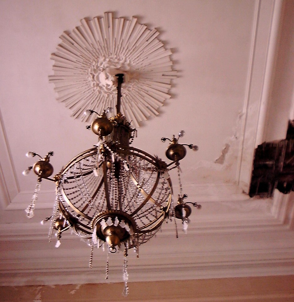 lustre grand  salon